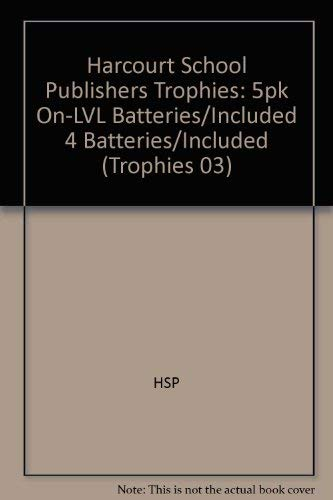 Harcourt School Publishers Trophies: On Level Individual Reader 5-Pack Grade 4 Batteries Not Included (Trophies 03)