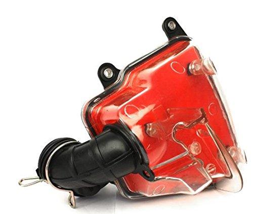 Luftfilter Box Transparent Minarelli liegend, Aerox, Jog, SR50, Nitro, Ovetto, Rexy, CPI, Hussar, Generic, Keeway 25 50