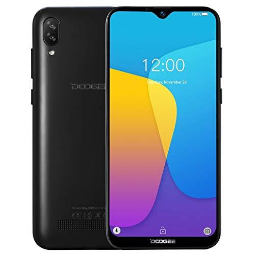 Jghjnfgv Volver Dual Cámaras, Face ID, 6,1 Pulgadas de Agua caída Pantalla Android 8.1 Oreo MTK6580A / WA Quad Core a 1,3 GHz hasta, de Red: 3G, OTA, Dual SIM (Color : Blue)