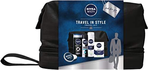Set de regalo Nivea para hombres de viaje en estilo bolsa de regalo