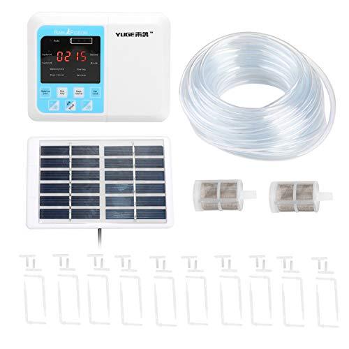 Hylotele Dispositif d'arrosage Automatique Intelligent Système de minuterie d'irrigation au Goutte-à-Goutte pour Charge d'énergie Solaire Dispositif d'arrosage Intelligent