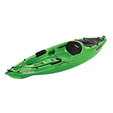 Sun Dolphin Bali SS Sit-on top Kayak (Lime, 10-Feet)