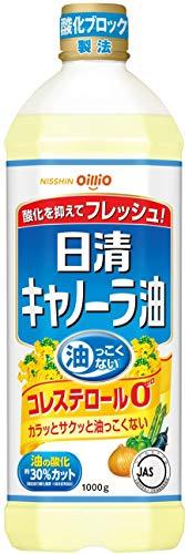 日清オイリオ キャノーラ油 ぺット 1000g