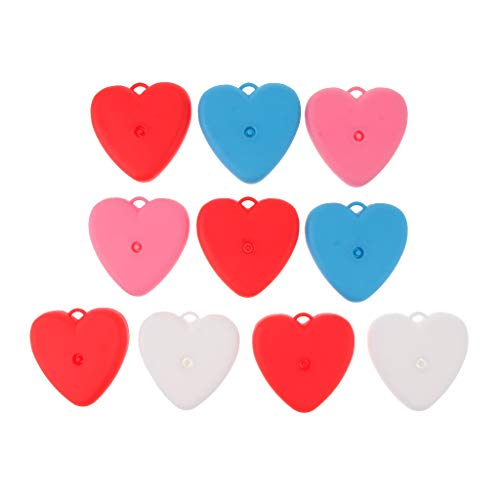 Fenteer 10 Pièces Poids Ballons Minion en Plastique pour Décor Mariage,Noël, Fête d'Anniversire, Cadeau d'enfant