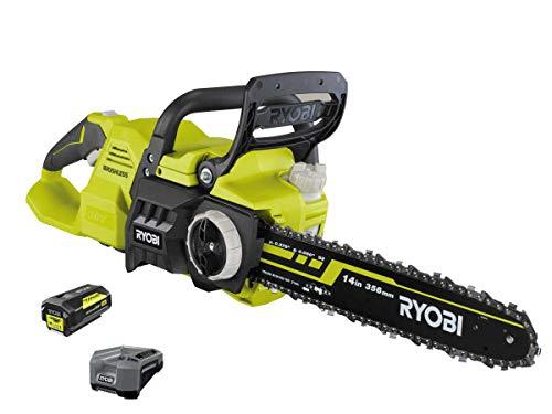 RYOBI RY36CSX35A-150 36 V Brushless Akku-Kettensäge mit Akku & Ladegerät | echte Benzinpower