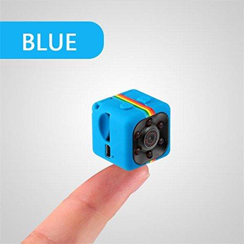 Pigloo Imars Sq11 1080p Mini Nachtzicht DV-VideoRecorder Vlog-Sport Camera, Blauw