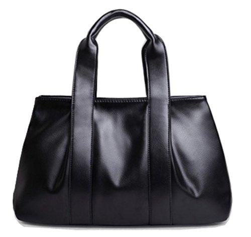 Tibes superiore di modo maniglia pu della borsa del cuoio del sacchetto di spalla tote