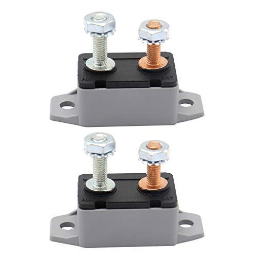 Homyl 2Pcs Fusible Disjoncteur Automatique à Réiniti Sation - 10A