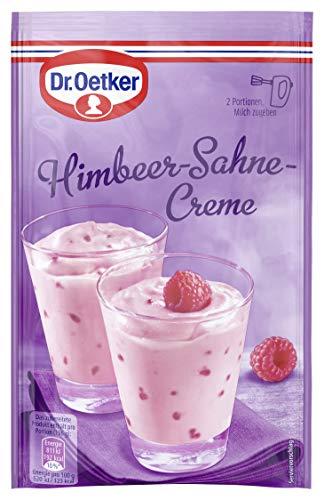 Dr. Oetker Himbeer-Sahne-Creme, 11er Pack (11 x 61 g)