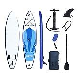 LHQ-HQ Tabla De Surf De Pie, Tabla De Surf Inflable, Tabla De Surf para Adultos, Tabla De Surf Plegable con Accesorios Y Bolsa De Almacenamiento Portátil
