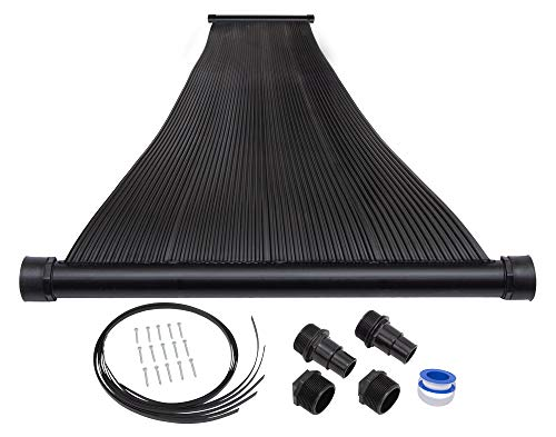 Best Price! SunQuest 2-2'X12' Solar Swimming Pool Heater with Roof/Rack Mounting Kit