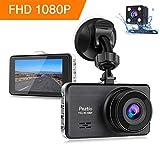 Dashcam Full HD 1080P Autokamera 3 Zoll IPS Dashcam Auto Vorne Hinten
