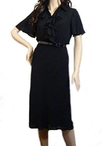 Ralph Lauren Damen Cocktail Kleid Gr. 40, schwarz