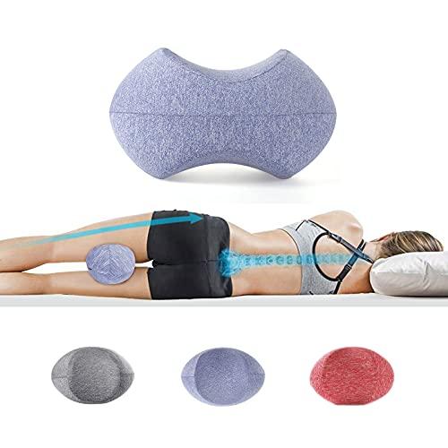 MOFASHIJIA Knee Pillow for Sleeping On Side,Memory Foam Contour Leg Pillow...