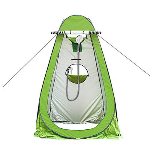 LFF TENT Toilettent, pop-up douchetent, kleedtent, camping outdoor kleedcabine mobiel toilet waterbestendig draagbaar snel opbouwtent - groen, blauw
