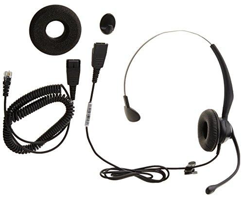 Yealink yhs33-Auricular monoaural con micrófono (con Noice Cancelling