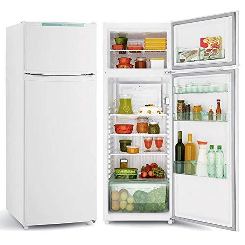 Geladeira Consul CRD37ZB Cycle Defrost Duplex 334 litros Branca com Freezer Supercapacidade - 220V