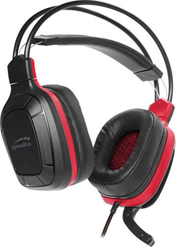 Speedlink Draze Gaming Headset - kompatibel mit PC/PS5/PS4/Xbox SeriesX/S/Switch, schwarz