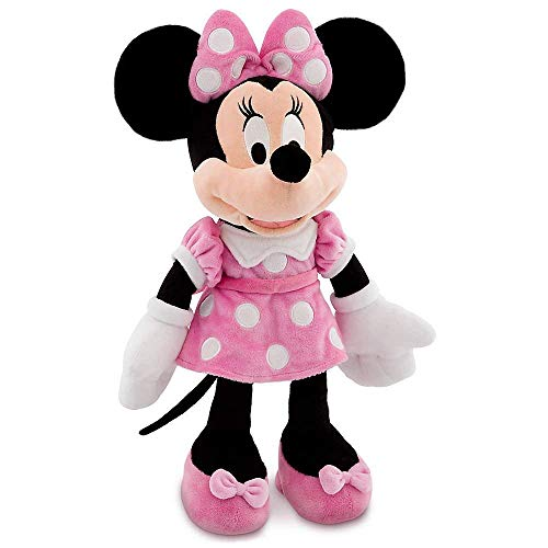 Disney 16 Minnie Mouse in Pink Dress Plush Doll