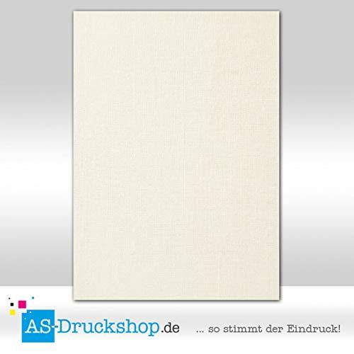 Designpapier Textur - Struktur - Feines Leinen / 50 Blatt/DIN A4 / 150 g-Offsetpapier