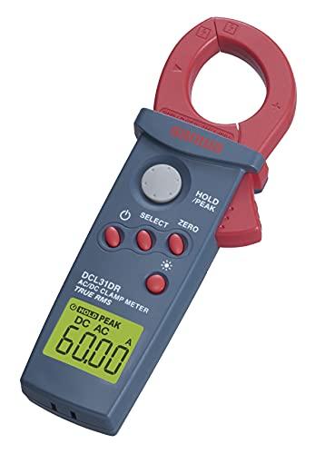 SANWA(三和電気計器)クランプメータDCL31DRブルー