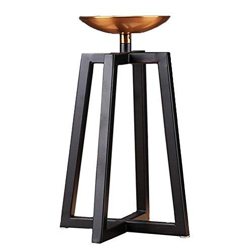 Kaars/Houder Zwart voor Tafels, Kandelaar Home Accessoires Romantische Kaarslicht Diner Ambachten Interieur Meubels