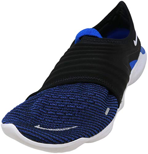 Nike Free RN Flyknit 3.0 Mens Running Trainers AQ5707 Sneakers Shoes (UK 8.5 US 9.5 EU 43, Racer Blue White Black 402)