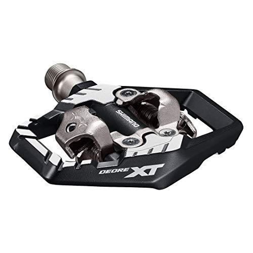 Shimano XT M8120 SPD, Paia Pedali Unisex Adulto, Nero