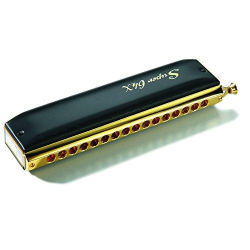Hohner Super 64X Gold & Black Harmonica