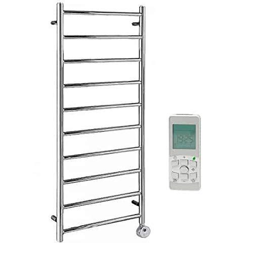 Superba - Toallero termostático eléctrico con radiador para baño (1200 x 500...