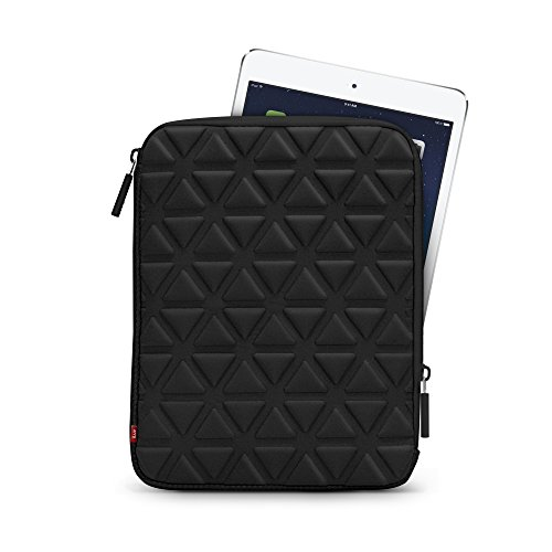 "iLuv Belgique (iCC2011) Foam-padded sleeve for all iPads and most 10"" tablets-Black"