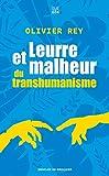Leurre et malheur du transhumanisme (Carnets DDB) - Format Kindle - 6,99 €