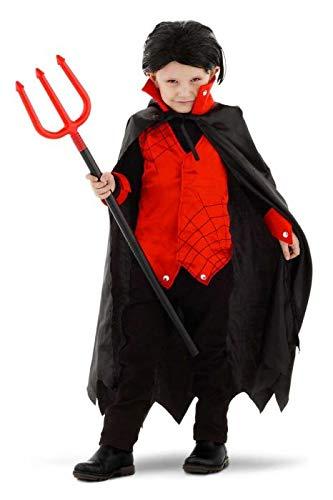 Folat- Drakula Kostüm Junge, Guirlande, 61407, 116-134