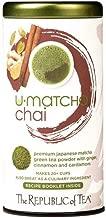 The Republic of Tea U-Matcha Chai Tea, 1.5 Ounces / 20+ Cups, Chai Spices and Matcha Tea Powder