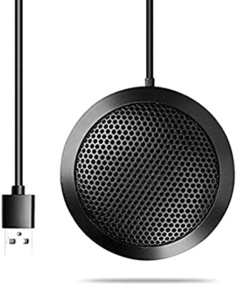 USB Microphone for Computer, Plug & Play PC Mic Anti-drop body for Omnidirectional Mic for Computers PC,Video Conference VoIP Call Skype Chat (Window/Mac)