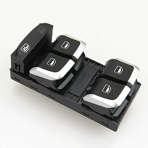 Qty1 Interruptor de control electrónico para ventana del conductor para A5 S5 Sportback Q5 A4 S4 B8 8KD 959 851 A 8KD 959 851A 8KD959851A