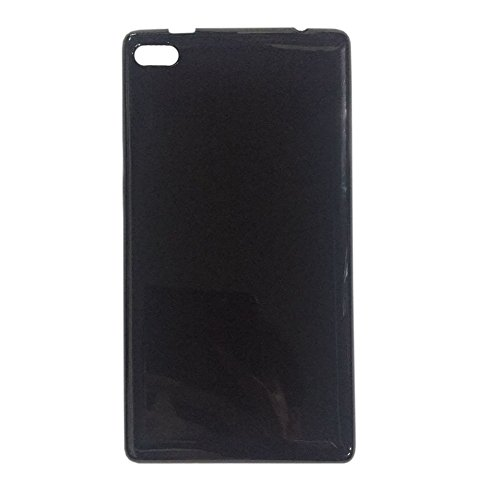 Hzjundasi Negro Funda Protectora TPU Gel Soft para 7' Lenovo Tab 7 Essential TB-7304X/I/N/F Tablet