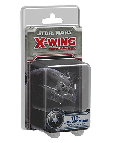 Asmodee HEI0417 - Star Wars X-Wing: TIE-Jagdbomber - Erweiterung-Pack