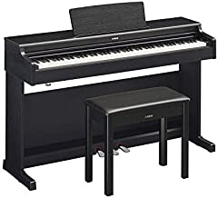 Yamaha Arius YDP162B Traditional Console Digital Piano with Bench, Black Walnut