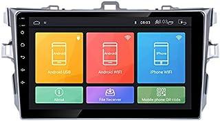 Android 10 Autoradio Autonavigation Steuergerät Stereo Multimedia Player Geographisches Positionierungs System Radio IPS 2.5D Touchscreen FürToyota Corolla 2007 2013