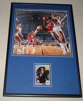 Pat Riley Signed Framed 12x18 Photo Display Kentucky vs Texas Western