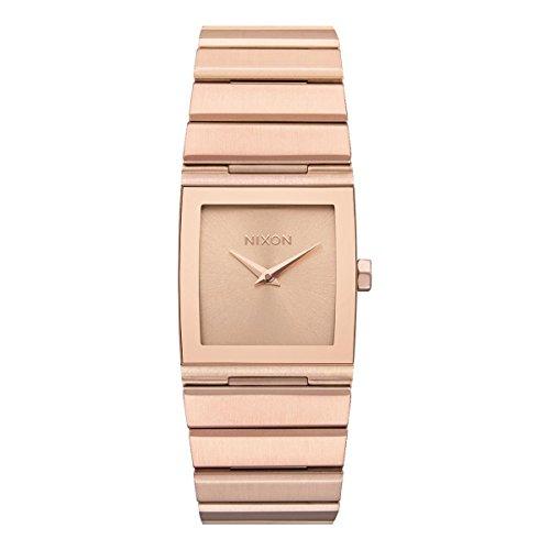 Nixon Unisex Erwachsene Digital Uhr mit Edelstahl Armband A1092-897-00