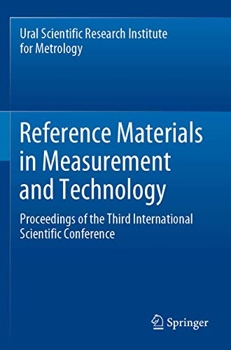 Reference Materials in Measurement and Technology: Proceedings of the Third International Scientific Conference