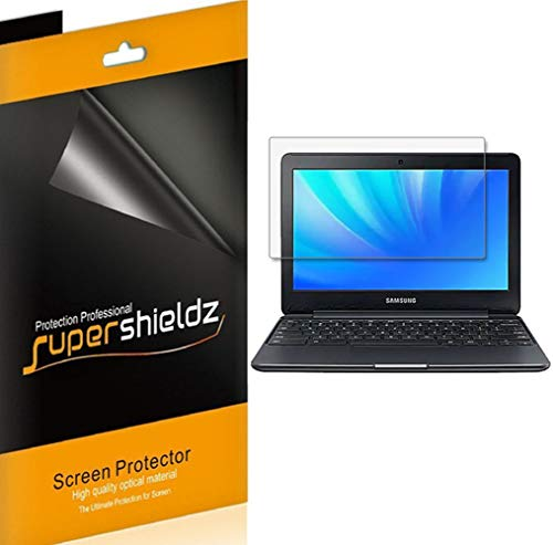 Supershieldz (3 Pack) for Samsung Chromebook 4/3/2 (11.6 inch) Screen Protector, High Definition Clear Shield (PET)