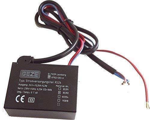 GEZE Stromversorgung Netzteil RSZ 6 Nr 85392