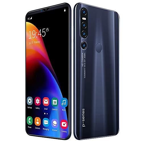 L&F TeléFono Inteligente 4G, TeléFono MóVil De 6,1 Pulgadas, Memoria Interna De 128 GB, 8 GB De RAM, BateríA De 4000 MAh, CáMara Dual De 13MP Y 18MP, Android 9.1, SIM Dual