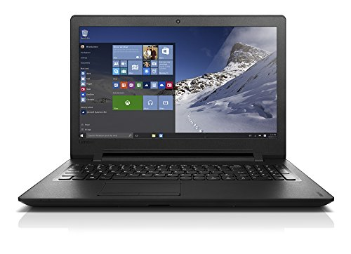 Lenovo Ideapad 110-15IBR Portatile con Display da 15.6' HD, Processore Intel Celeron N3710, RAM 4 GB, 1 TB HDD, Scheda Grafica Integrata, S.O. Windows 10 Home, Nero, Tastiera Italiana