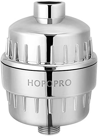 18 Stage Shower Filter Hopopro High Output Universal Shower Head Filter Chlorine Filter Hard product image