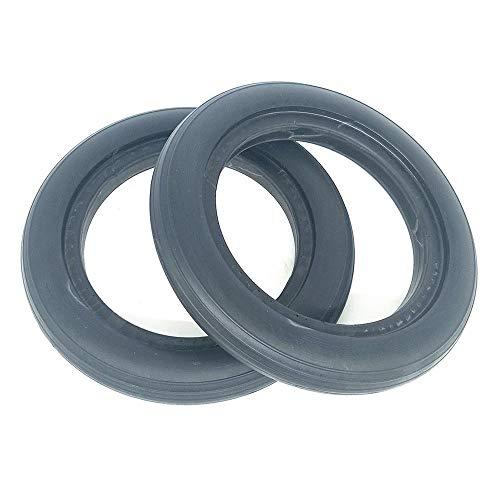 SUIBIAN Neumáticos de Scooter eléctricos, 8 Pulgadas 8x1 1/4 200x45 Accesorios para neumáticos para bebé Resistentes al Desgaste Antideslizante, 7 especificaciones Opcionales,1 Solid Tire