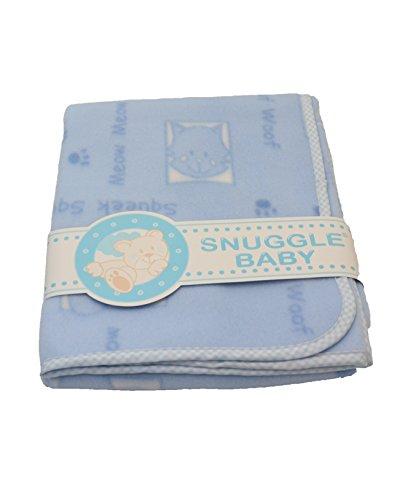 Snuggle Baby Couverture Landau (Squeek Squeek Imprimé Bleu) 624